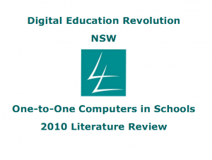 Digital Education Revolution NSW - Literature Review 2010